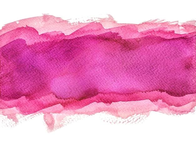 多層パープルの水彩背景、手塗り