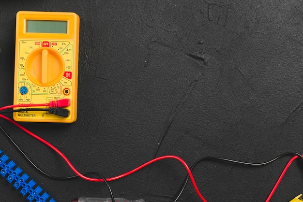 Multimeter and wires
