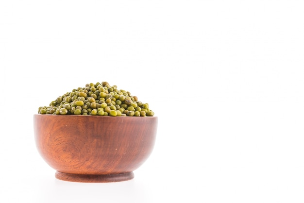 Mung bean bowl isolated