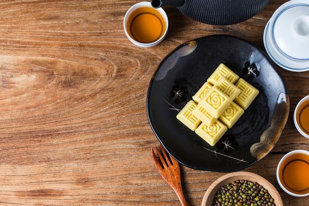 中国の専門豆餅