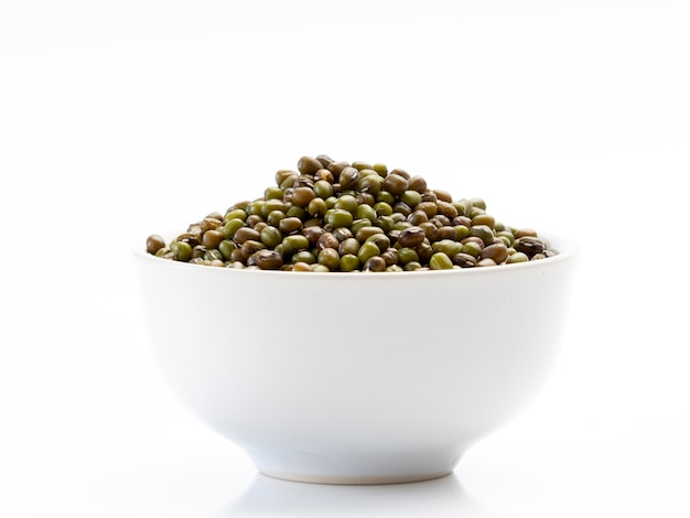 The mung beans in bowl