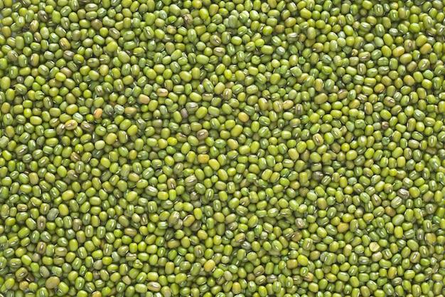 クローズアップショット、上面図と緑豆。