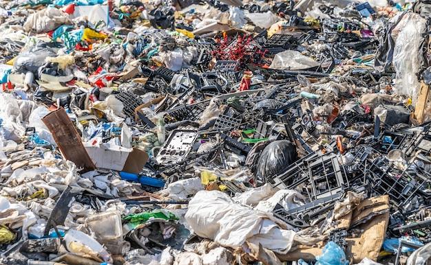 Municipal waste landfill