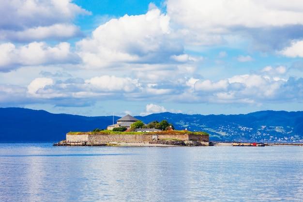 Мункхольмен - островок к северу от тронхейма, норвегия.