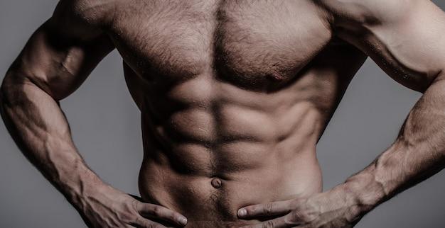 Мускулистый мужчина, голый мужчина, здоровый мускулистый парень, мужчина торс. сексуальный мужчина с мускулистым телом и голым торсом. атлетичный европеоид, сексуальный мачо. мускулистый спортивный сексуальный мужчина, голый торс.