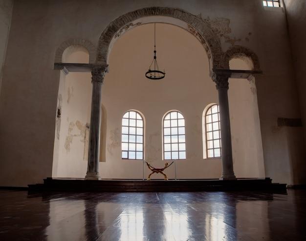Museum in the euphrasian basilica. porec