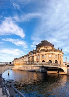 Museum island in berlin on river spree