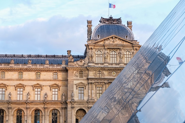 The museum of louvre