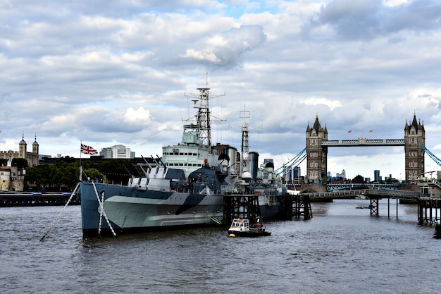 Museum on the river thames