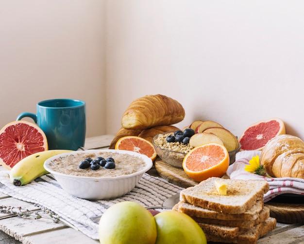 Mush and snacks assortment