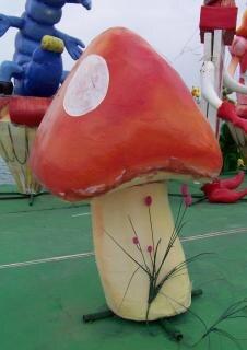 Mushroom, clown