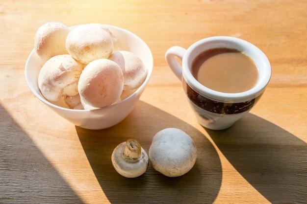 Mushroom coffee superfood trend