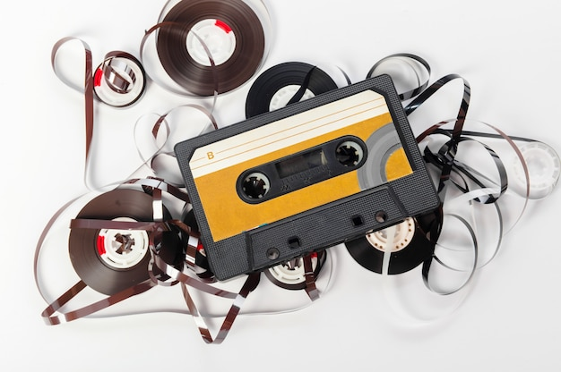 Music audio tape
