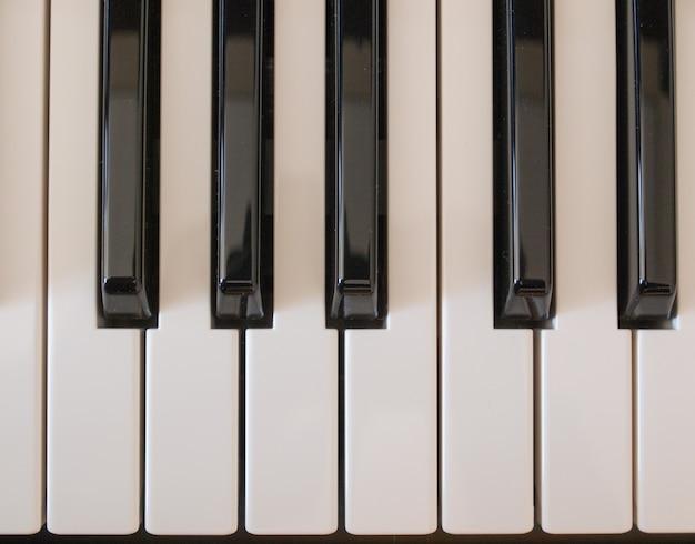音楽キーボードのキー