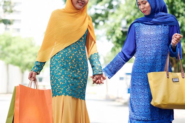 Muslim female friends