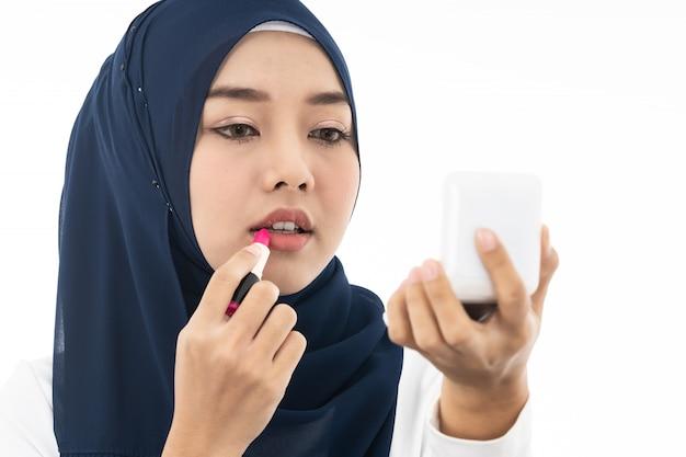 Muslim girl portrait make up