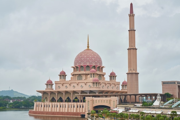 Muslim landmark red travel outdoor