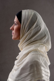 Muslim woman portrait