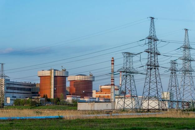 ユジノウクレインスク市のmykolaiv原子力発電所