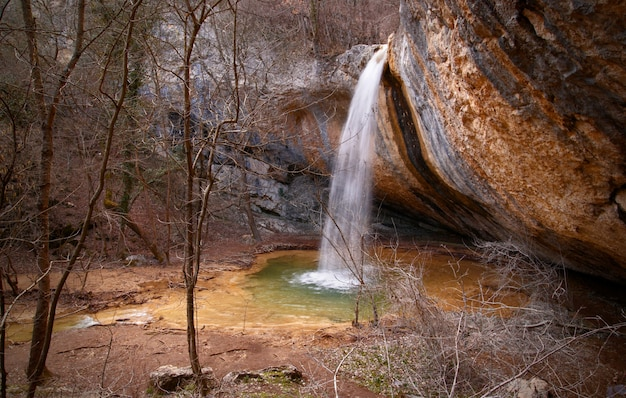 ミステリー滝