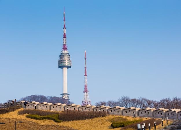 Nソウルタワーの尖塔