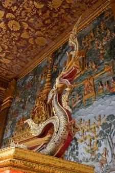 Naga of lao lanexang luang prabang world heritage
