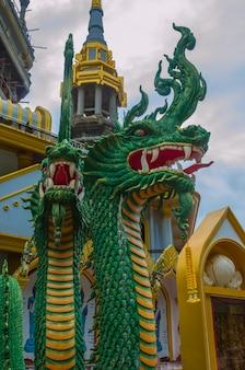 Naga  sculpture in vertical
