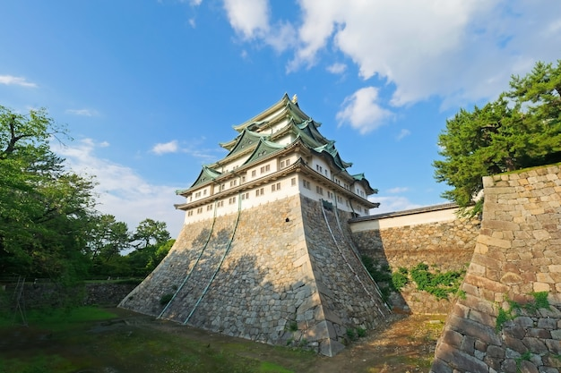 Nagoya castle, a japanese castle in nagoya, japan