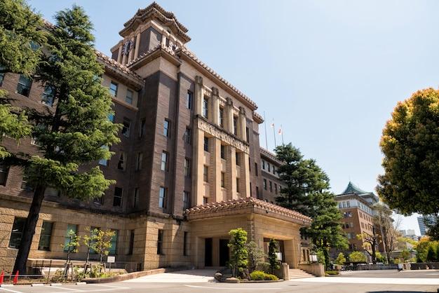 Nagoya city hall building