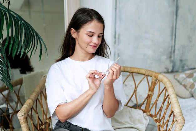 Nail care manicure process