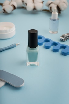 Nail care products assortment