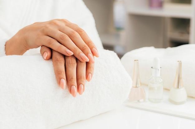 爪の衛生とケア