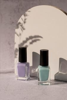 Nail polish arrangement