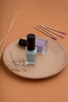 Nail products arrangement