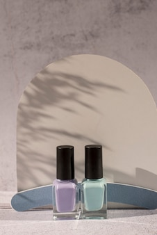 Nail products assortment