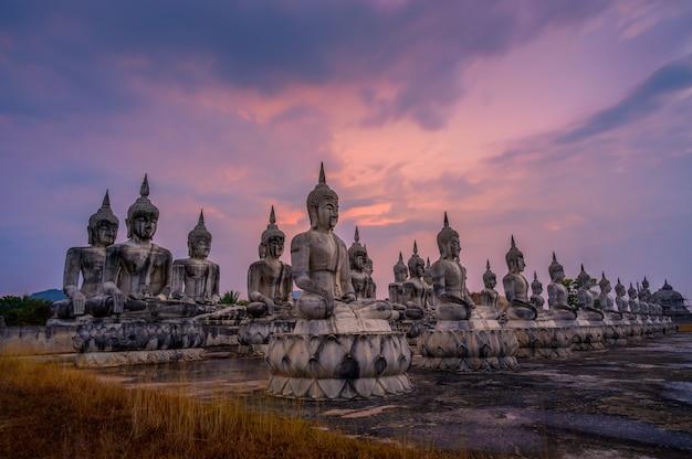 Nakhon si thammarat buddha statue thailand