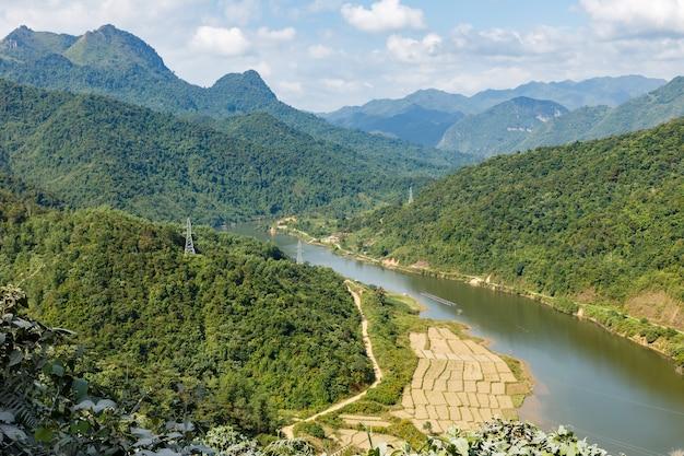 Nam nua river, vietnam