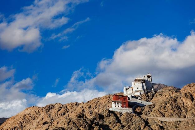 Namgyal tsemo gompa and fort. leh, india