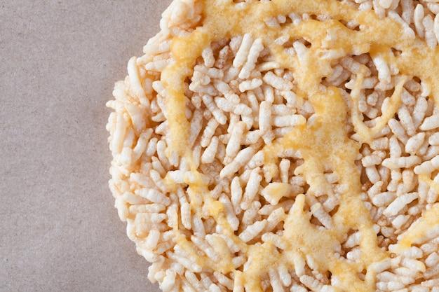 Nang letは餅ラウンドの名前で、平らなお菓子はタイのデザートです。
