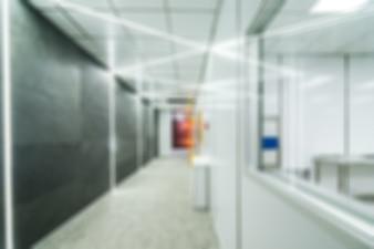 Nano technology factory theme blur background