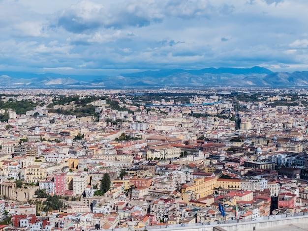 Naples panoramic view