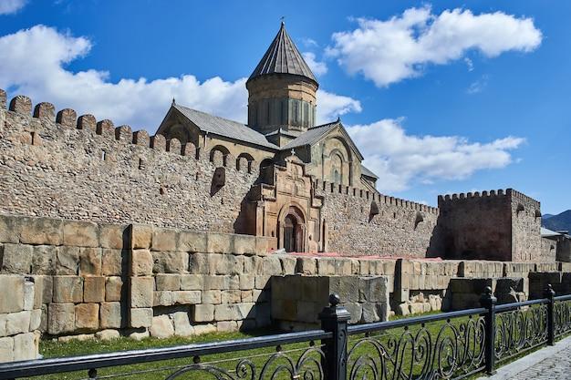トビリシジョージアのナリカラ城