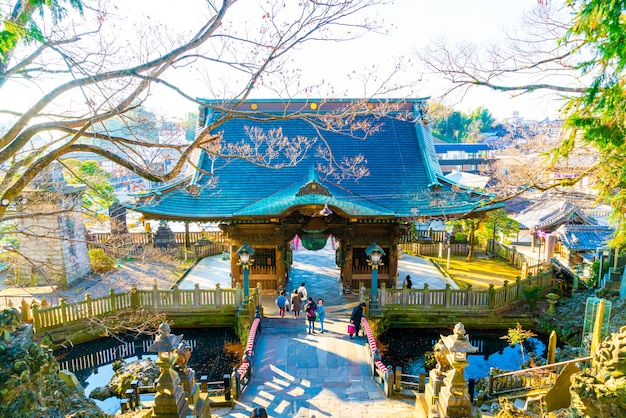 Храм нарита сан шиншоджи, сюда приезжают популярные туристы, потому что это древний храм с великолепной архитектурой. есть захватывающая история.