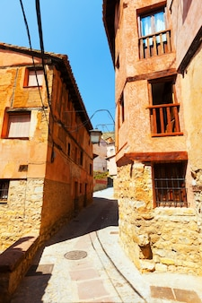 Narrow street of old town