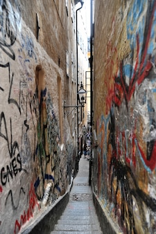 The narrowest street in stockholm