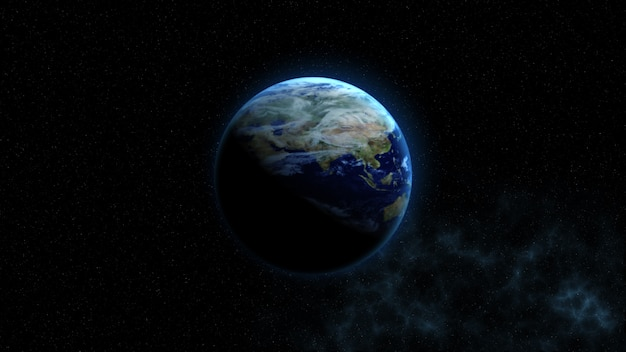 地球。 nasaから提供されたこの画像要素
