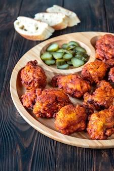 Nashville hot chicken в соусе из кайенского перца