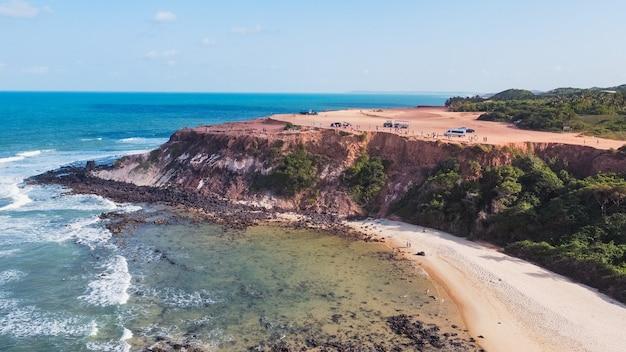 Натал, риу-гранди-ду-норти, бразилия - 12 марта 2021 года: шападао-де-пипас в риу-гранди-ду-норти