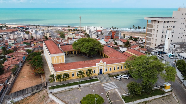 Натал, риу-гранди-ду-норти, бразилия - 12 марта 2021 г .: туристический центр города натал