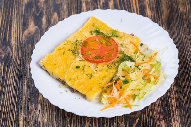 郷土料理、アジア、東のコンセプト-中央アジア料理。